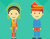 Indonesian Traditional Dresses
