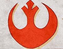 Star Wars Drawn Poster