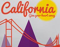 4 color California Travel Ad