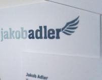 jakob adler logotype