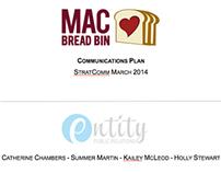 Communications plan for Mac Bread Bin