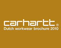 Dutch brochure for Carhartt® Workwear NL 2010