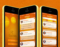 CoachMe mobile application