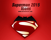 Superman 2015 Icons