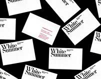 White Summer 2016: Identity and Campaign