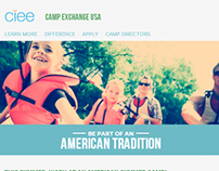 CIEE Camp Exchange USA - Original Design