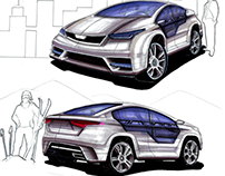 PARS_ Concept car project
