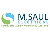 M Saul Electrical Branding