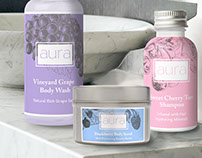 Aura Soap Co Branding