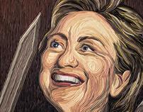 Hillary as the Biblical Judith