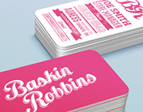 Baskin Robbins Identity & Marketing Redesign