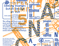 Seeing Orange: Dutch Design at CCA