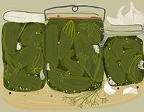 Illustrations food