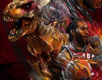 KAWHI LEONARD- Toronto Raptors.