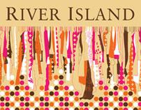 River Island Carrier Bag