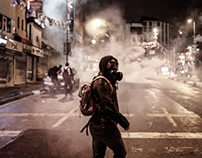 Istanbul Protests / Walking with Berkin Elvan