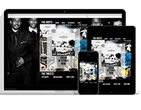 The Roots website redesign