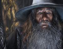 Gandalf Digital Portrait