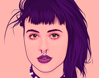 Portrait of Molly Soda