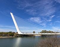 El puente del Alamillo, Sevilla
