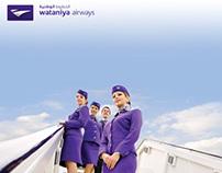 Wataniya Airways Sales Station