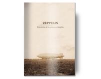 Zeppelin - Mailing de la exposición de Dirigibles