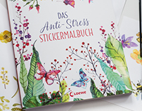 Natural Sticker book