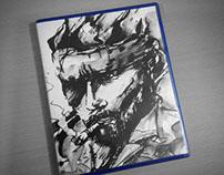 Metal Gear Solid V: Ground Zeroes PS4 Custom Box Art