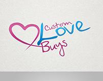 Custom Love Buys Logo