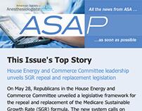 """ASAP"" Responsive Email Newsletter"