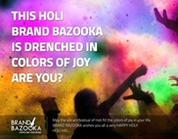 Holi Emailer (Self Promotion)