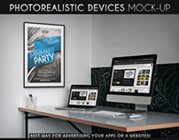 Photorealistic Devices Mock-Up