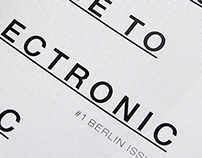 Booker's Guide to Electronic Music