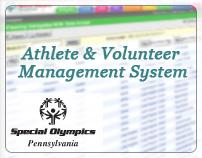Athlete & Volunteer Management System - (SOPA)