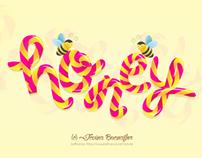 Honey Typography