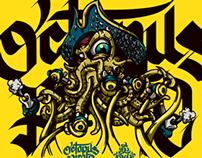 Octopus (Regulator) Pirate Artwork