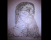 Geometrical self-portraits
