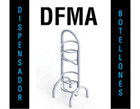 DFMA Dispensador Botellones