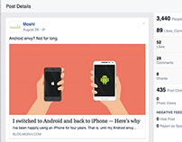 Facebook Marketing - Moshi