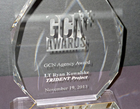 Laser Engraved Crystal Award