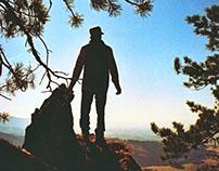 Man In Wild // 35mm Film //
