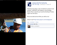 JAXPORT Social Media Brand Integration