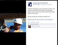 JAXPORT Social Media Brand Integration