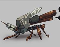 Kaodes Mechamosquito