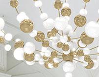 Luminous Pellet, Sans Souci lighting