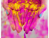 Colors of Life Holi 2014