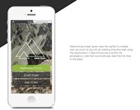 Hiking Rocks Mobile Application