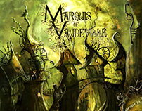Marquis of Vaudeville - CD Cover