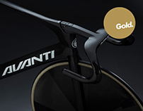 Avanti Bikes Identity Design
