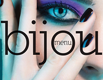 In store and web designs for Bijou Beauty Boutique